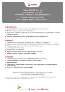 OGŁOSZENIE operator urzadzen energetycznych 082021 - Ostrów